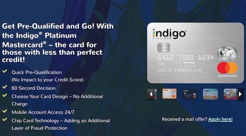 MyIndigoCard Offer