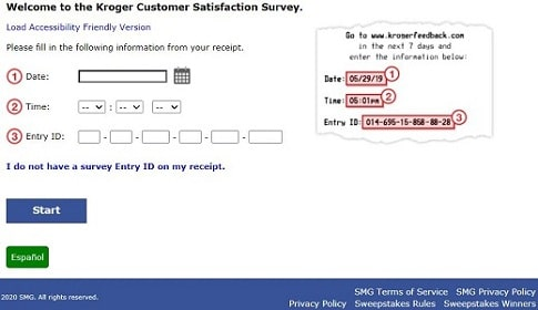 kroger-survey-page