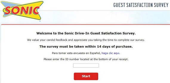 talktosonic survey page