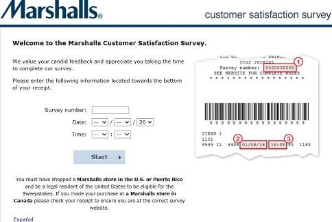 MarshallsFeedback page