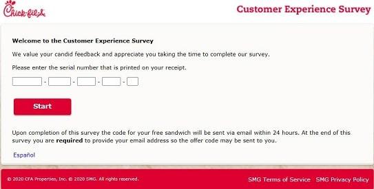 My-CFA-visit-Survey-page