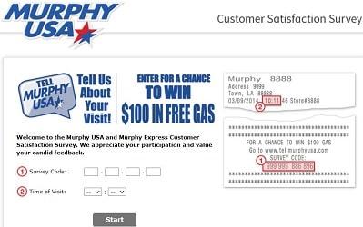 TellMurphyUSA survey page