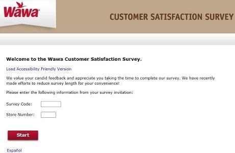 my-wawa-visit-survey-page